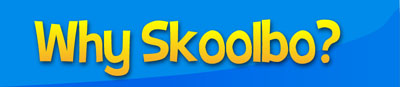 Why choose Skoolbo? Reading, writing, numeracy, languages, science, art and brain games